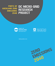 Ports of Auckland DC micro-grid research project